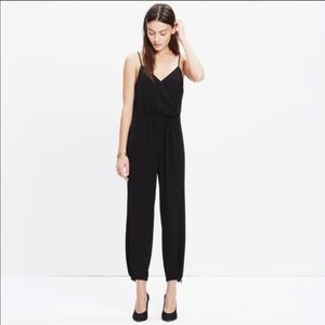 Madewell Faux Wrap Cali Jumpsuit